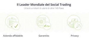 eToro guida social trading