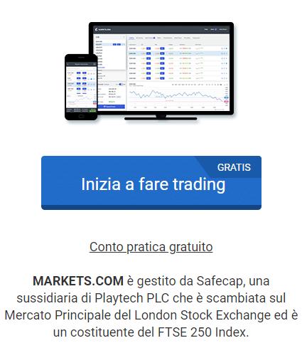 markets.com apertura conto