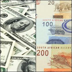 cross valutario USD/ZAR