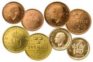 monete utilizzate in svezia