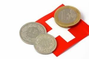 quotazione cambio euro franco svizzero